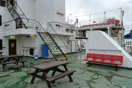 Onboard the European Seaway © Paul Cloke