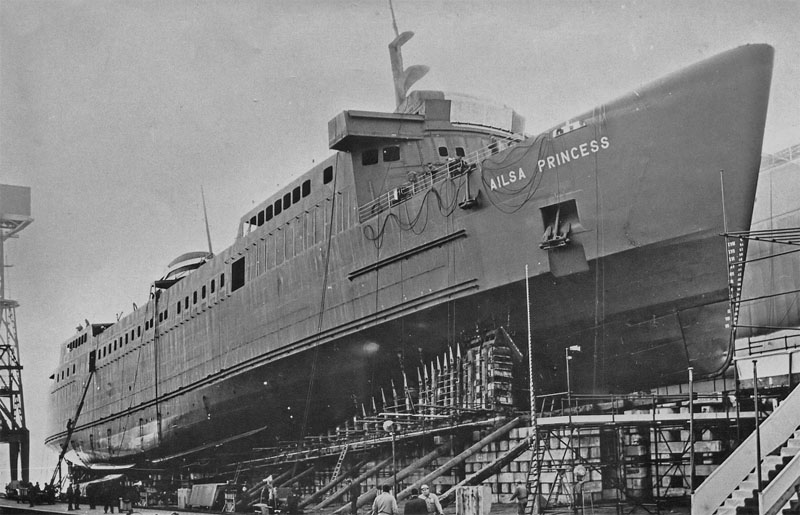 Launch Day - Dover Ferry Photos Archive