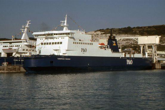 Maiden Arrival at Dover © Ken Larwood