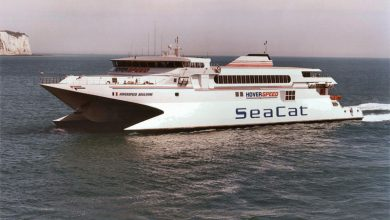 Photo of HSC Hoverspeed Boulogne (Incat 027) – Past and Present