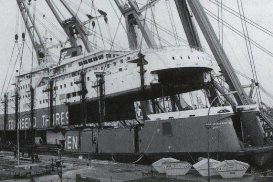 Schichau -Unterweser AG Bremerhaven, Roy Thornton Collection