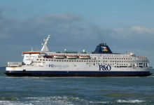 Last daylight crossing from Calais 14/12/10 © Ray Goodfellow