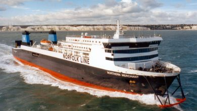 Photo of MV Northern Merchant – Past and Present