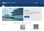 Cruiseschepen in Zeebrugge