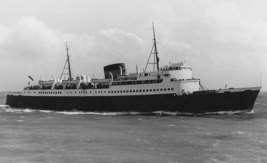 Courtesy of the World Ship Society, East Kent Branch