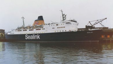 Photo of MV Senlac – Past and Present