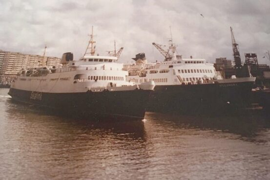 Courtesy of the family of Gerry Stevens, Sealink Manager, Boulogne, 1974-89