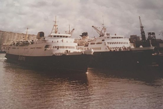 Courtesy of the family of Gerry Stevens, Sealink Manager, Boulogne, 1974-89',