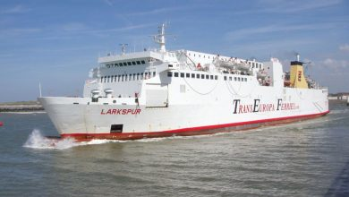 Photo of MV Larkspur – Past and Present