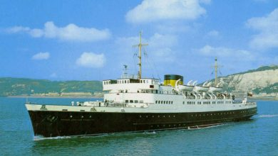 Photo of MV Prinses Josephine Charlotte (II) – Past and Present
