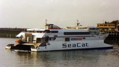Photo of HSC Hoverspeed France (Incat 026) – Past and Present