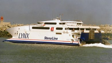Photo of HSC Stena Lynx II (Incat 033) – Past and Present