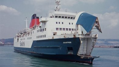 Photo of MV Chartres – Past and Present