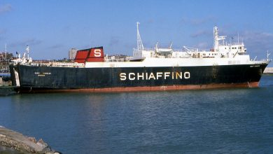 Photo of MV Catherine Schiaffino – Past and Present