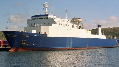 Photo of MV Clare – Past and Present