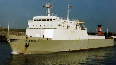 Photo of MV Fuldatal – Past and Present