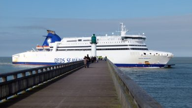 Photo of A brief visit to Calais pier 3rd March 2013