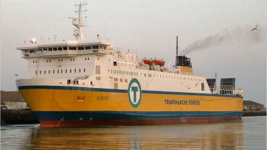 Photo of MV Dieppe – Past and Present