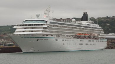 Photo of MV Crystal Symphony – Past and Present