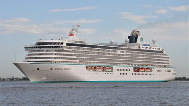 Photo of MV Crystal Serenity – Past and Present