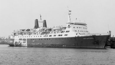 Photo of MV Nuits Saint George – Past and Present