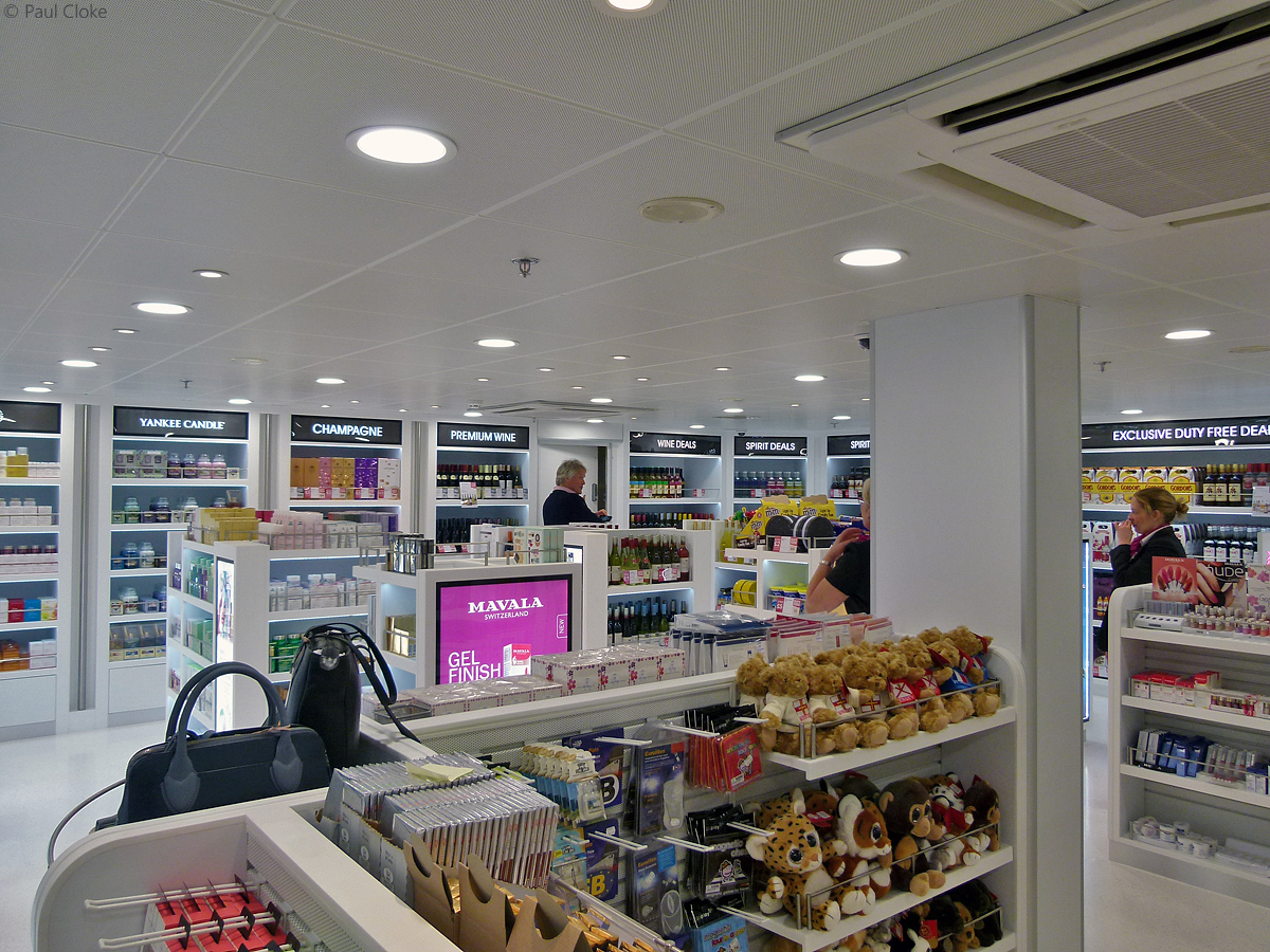 Adore Duty Free - Counters