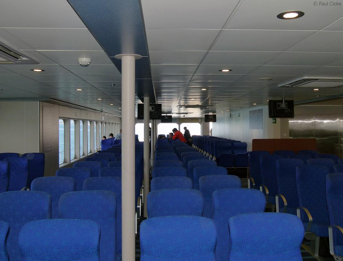Ocean Traveller Seating - Stern, Starboard Side