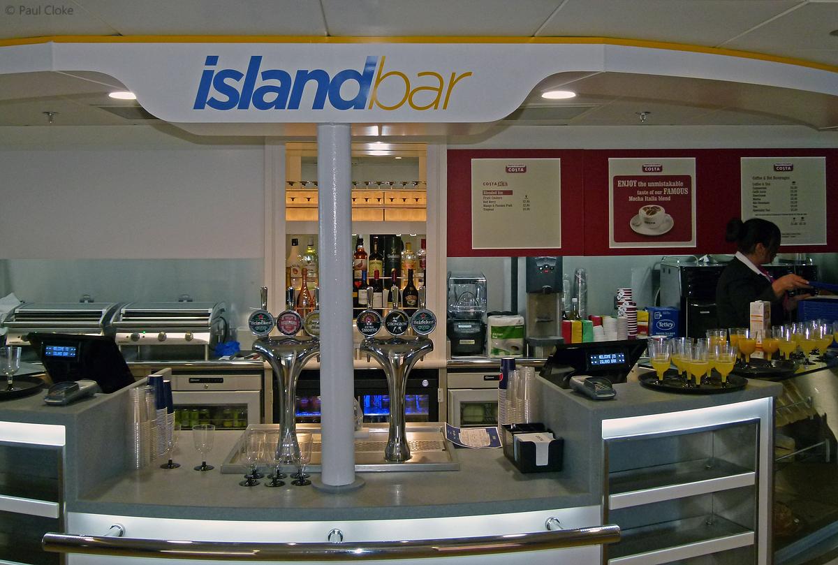 Island Bar - Counter