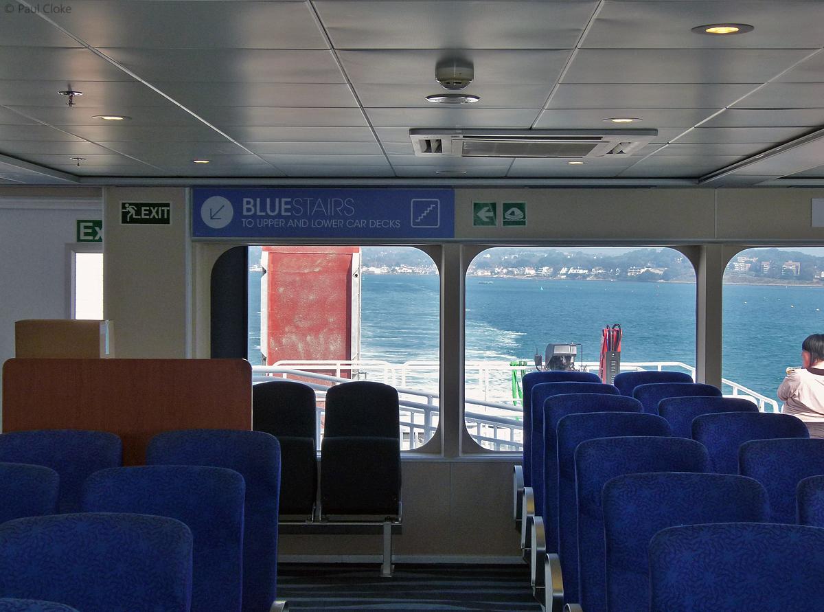 Ocean Traveller Seating - Port side looking aft