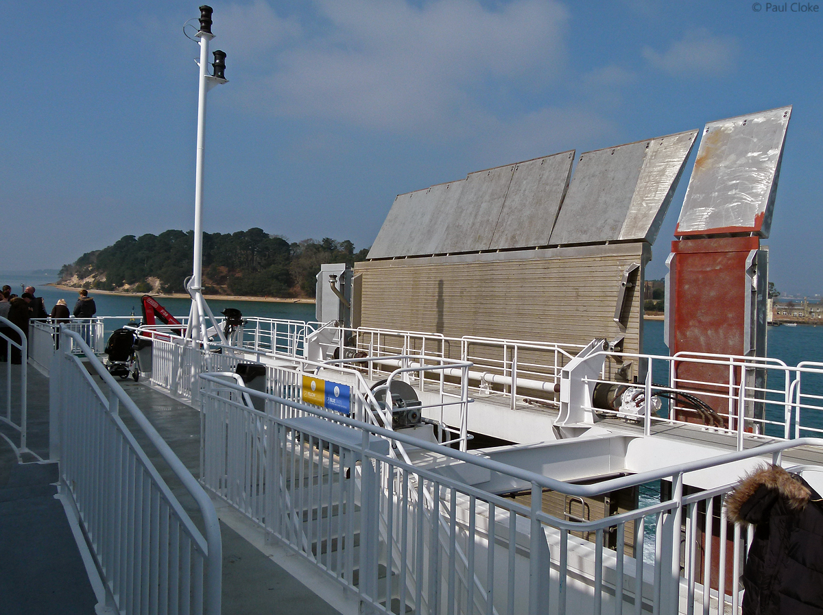 Lower Outside Deck - Looking to Starboard