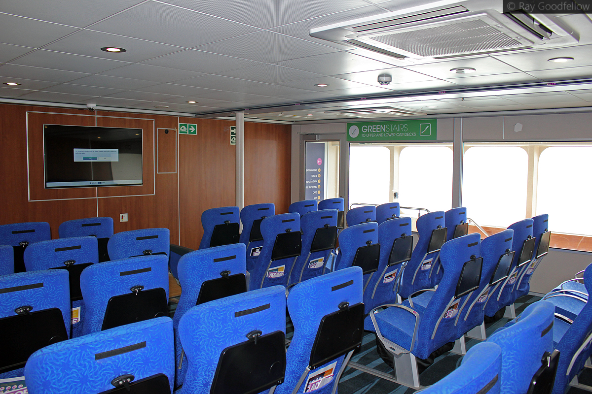 Ocean Traveller Seating - Starboard side next to the Green Stairs