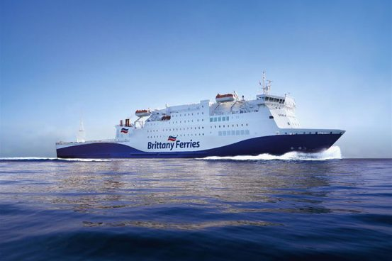 Artists Impression, Brittany Ferries