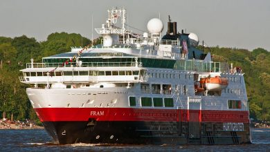 Photo of MV Fram, Past and Present