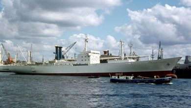 Photo of MV Polar Colombia, Cargo from the Past