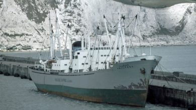 Photo of MV Abulfeda, Cargo from the Past