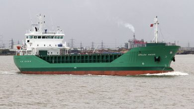 Photo of MV Arklow Racer, Past and Present