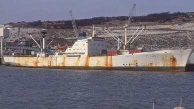 Photo of MV S Lucia, Cargo from the Past