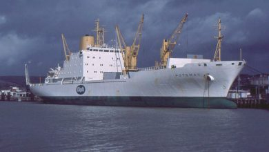 Photo of MV Potomac, Cargo from the Past