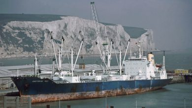 Photo of MV Santorini Rex, Cargo from the Past