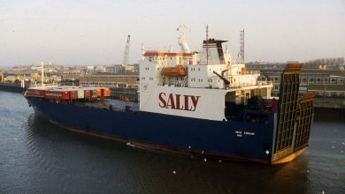 Photo of MV Sally Eurolink – Past and Present