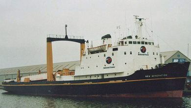 Photo of MV Kingsnorth Fisher – Cargo from the Past