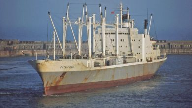 Photo of MV Capricorn – Cargo from the Past