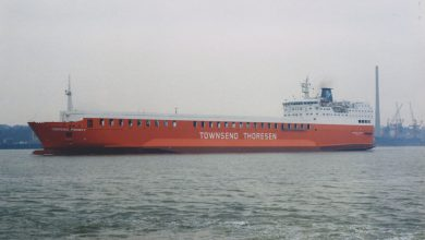 Photo of MV Cerdic Ferry – Past and Present