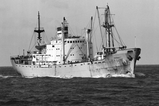 (Off Cuxhaven by Gerhard Fiebiger in 1984)