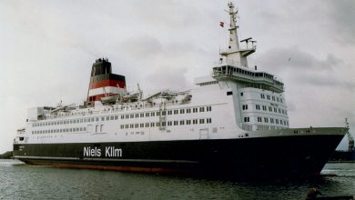 Photo of MV Niels Klim – Past and Present