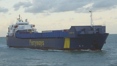 Photo of MV Ostend Way – Past and Present