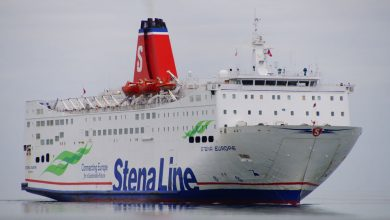 Photo of MV Stena Europe – Past and Present