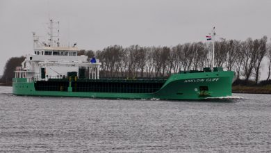 Photo of MV Arklow Cliff – Past and Present