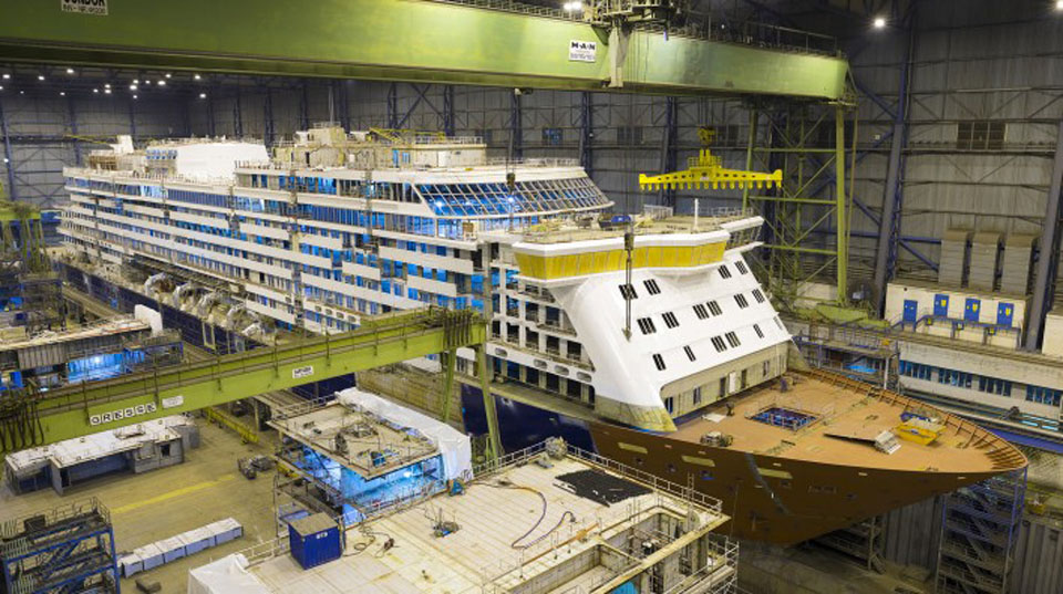 Spirit of Discovery © Meyer Werft