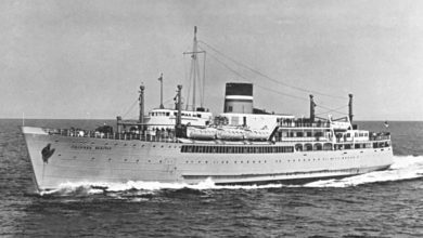 Photo of MV Prinses Beatrix (1939) – Past and Present